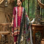 Maira Ahsan Embroidered Linen Palachi Collection 10a