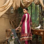 Maira Ahsan Embroidered Linen Palachi Collection 10b