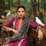 Maira Ahsan Embroidered Linen Palachi Collection 10c