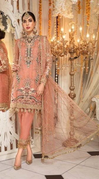 Anaya By Kiran Chaudhry Embroidered Organza AKMC19 06 ZAVAREH - Wedding Collection