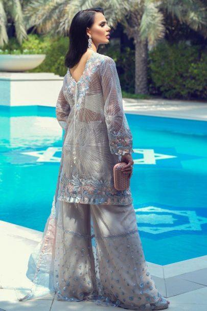 Mushq Luxury Wedding Collcection Unstitched 3 pcs Suit MLW19-05 ALESAN