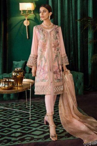 Unstitched 3 Pcs Iznik Luxury Velvet Collection 2020 – Winter Collection ILV-10 Ballerina