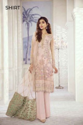 Iznik Embroidered Chiffon Imperial Dreams Unstitched 3 Piece Suit ID-06 2020 Luxury Collection