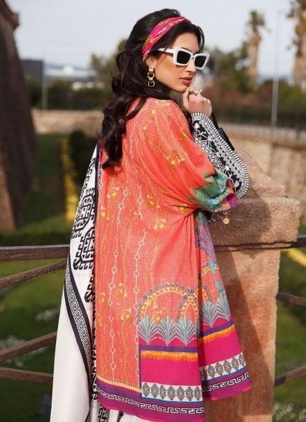 Farah Talib Aziz Luxury Lawn Unstitched 3 Piece Suit FTAL20-09 Lawn Collection