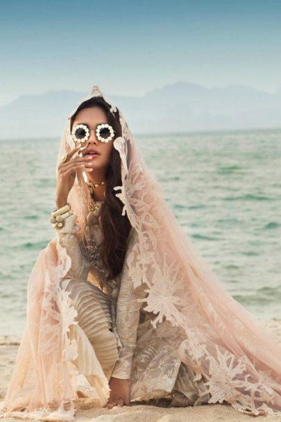 Sana Safinaz Luxury Lawn Unstitched 3 Piece Suit SSLL20-015A Lawn Collection