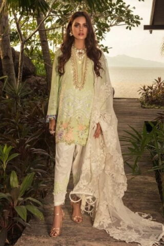 Sana Safinaz Luxury Lawn Unstitched 3 Piece Suit SSLL20-017B Lawn Collection