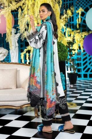 Zaha Unstitched 3 Piece Suit ZHL20 29 Lawn Collection