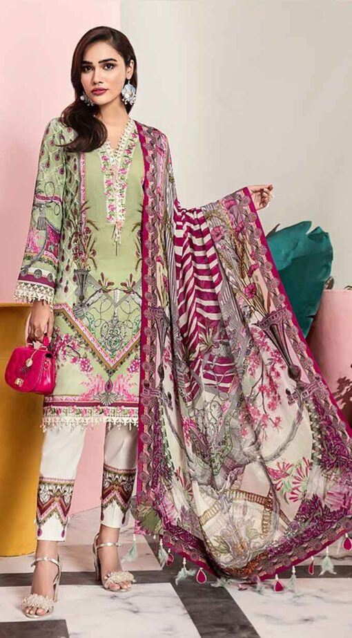Viva by Anaya Embroidered Lawn Unstitched 3 Piece Suit AVL20-05-B – Summer Collection