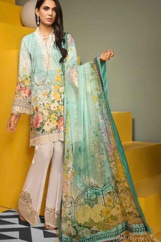 Viva by Anaya Embroidered Lawn Unstitched 3 Piece Suit AVL20-08-A - Summer Collection