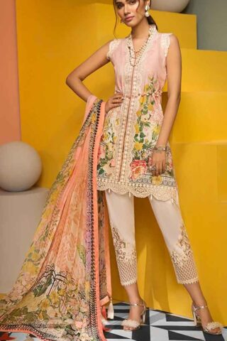 Viva by Anaya Embroidered Lawn Unstitched 3 Piece Suit AVL20-08-B - Summer Collection