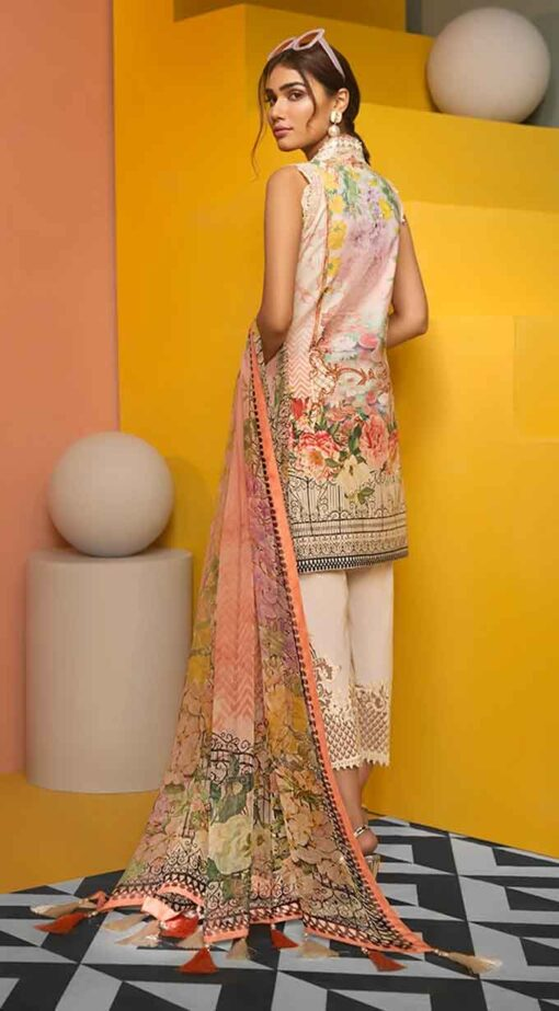 Viva by Anaya Embroidered Lawn Unstitched 3 Piece Suit AVL20-08-B – Summer Collection