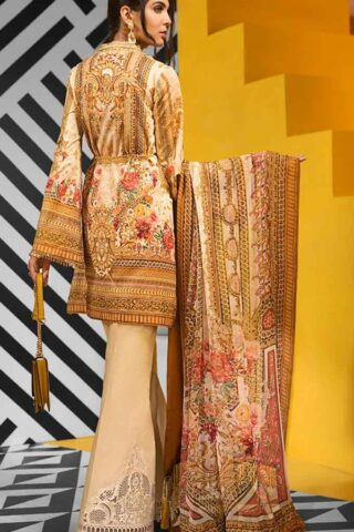 Viva by Anaya Embroidered Lawn Unstitched 3 Piece Suit AVL20-10-B - Summer Collection