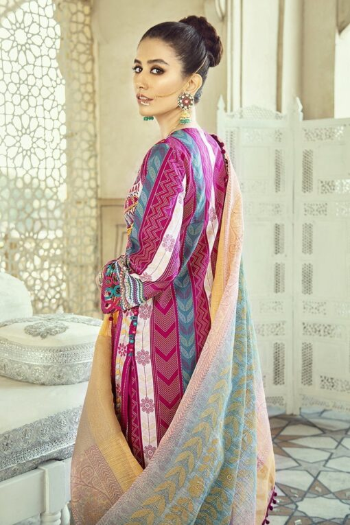 Sheesh Mahal by Cross Stitch Embroidered Lawn Unstitched 3 Piece Suit CSL20 06 Kashmiri Crewel – Lawn Collection