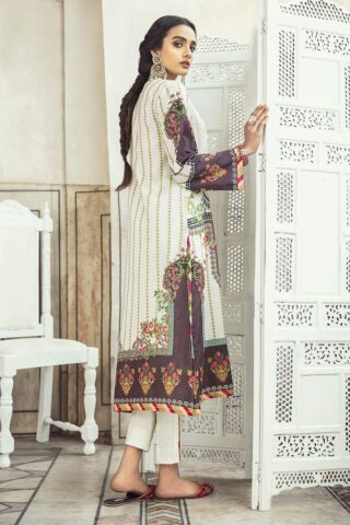Sheesh Mahal by Cross Stitch Embroidered Lawn Unstitched 3 Piece Suit CSL20 23 Aztec Shadow - Lawn Collection