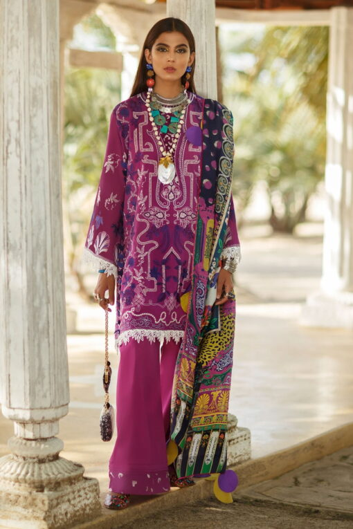 Elan Luxury Lawn Unstitched 3 Piece Suit ELL20 01 B NYOTA – Lawn Collection