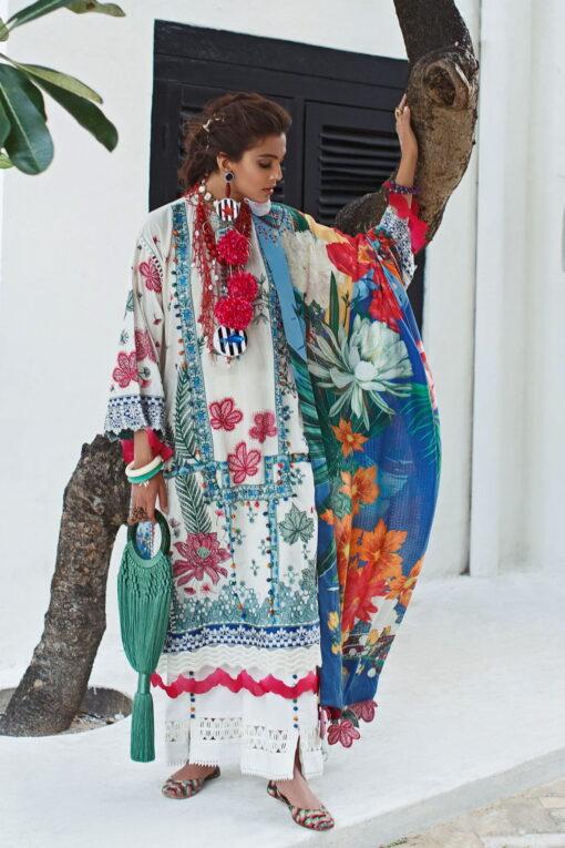 Elan Luxury Lawn Unstitched 3 Piece Suit ELL20 02 A MSITU – Lawn Collection