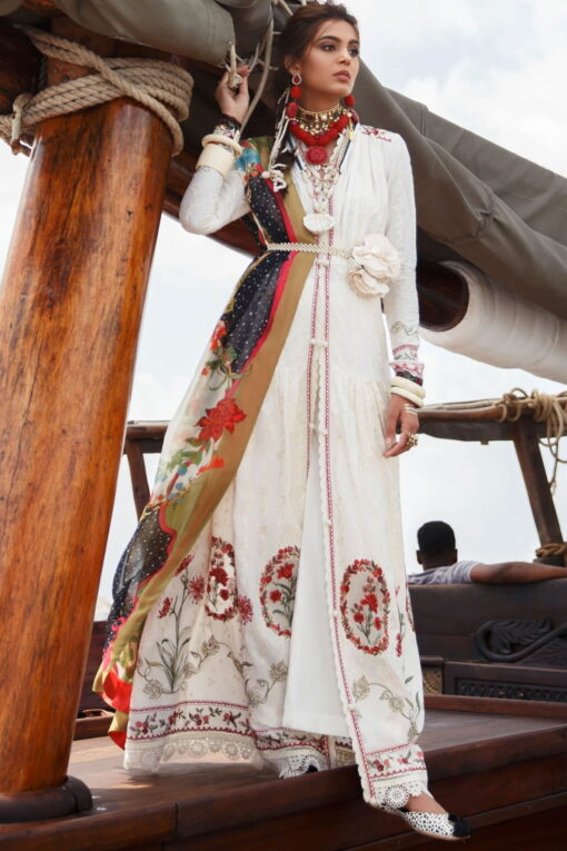 Elan Luxury Lawn Unstitched 3 Piece Suit ELL20 04 A NALAH – Lawn Collection