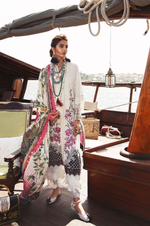Elan Luxury Lawn Unstitched 3 Piece Suit ELL20 05 A MARINI – Lawn Collection