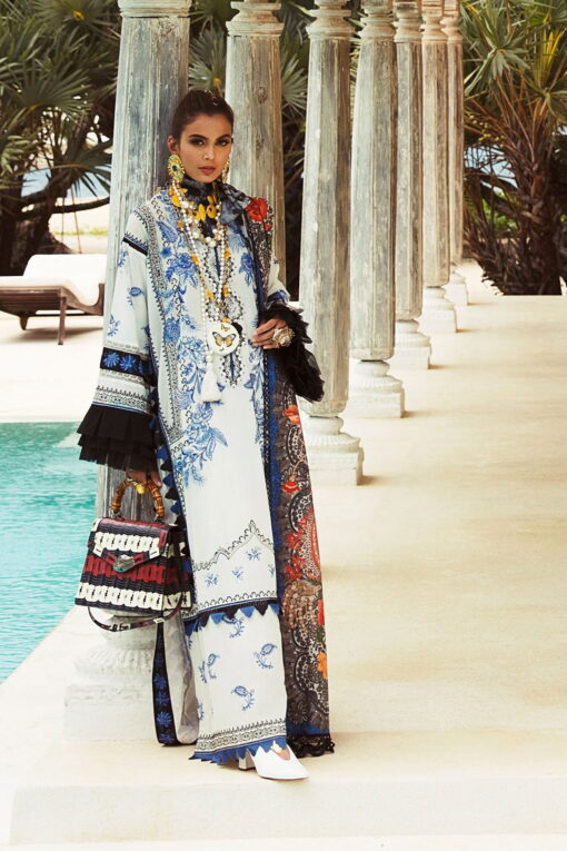 Elan Luxury Lawn Unstitched 3 Piece Suit ELL20 14 A MOSIYA – Lawn Collection