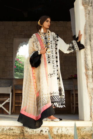 Elan Luxury Lawn Unstitched 3 Piece Suit ELL20 15 A JOHARI - Lawn Collection