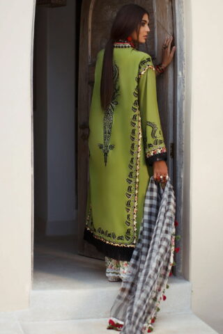 Elan Luxury Lawn Unstitched 3 Piece Suit ELL20 15 B JOHARI - Lawn Collection