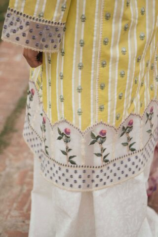Zara Shahjahan Luxury Embroidered Lawn Unstitched 3 Piece Suit ZSL20 JEHANARA-A - Summer Collection