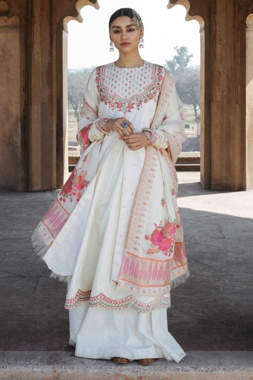 Zara Shahjahan Luxury Embroidered Lawn Unstitched 3 Piece Suit ZSL20 PAKEEZAH-A – Summer Collection