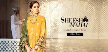 Sheesh Mahal by Cross Stitch Embroidered Lawn Collection 2020