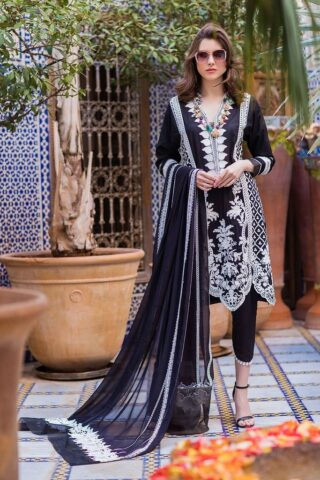 Sobia Nazir Embroidered Lawn Unstitched 3 Piece Suit SBNL20 04 B – Lawn Collection