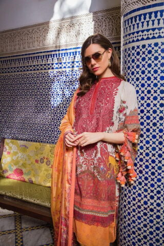 Sobia Nazir Embroidered Lawn Unstitched 3 Piece Suit SBNL20 14 B - Lawn Collection