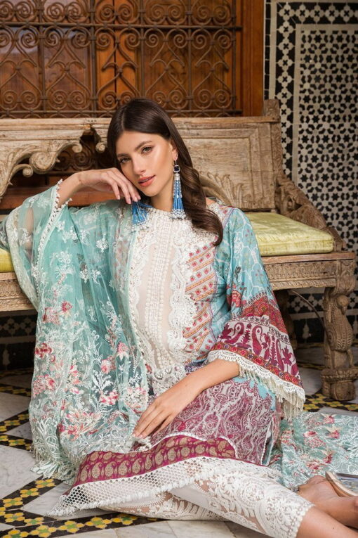 Sobia Nazir Embroidered Lawn Unstitched 3 Piece Suit SBNL20 15 A – Lawn Collection