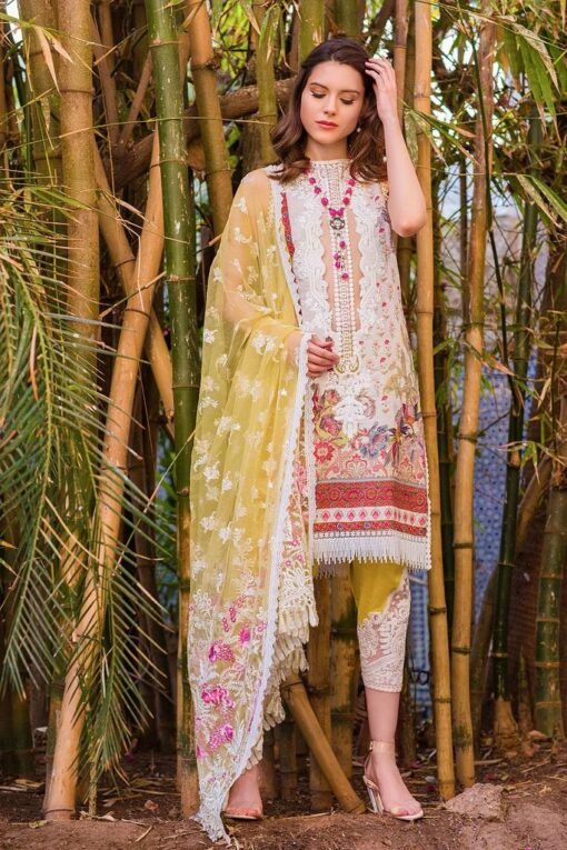 Sobia Nazir Embroidered Lawn Unstitched 3 Piece Suit SBNL20 15 B - Lawn Collection