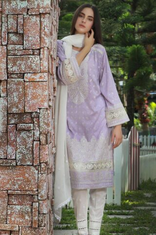 Lakhany Chikankari Lawn Unstitched 3 Piece Suit LSMCL18 803 – Lawn Collection