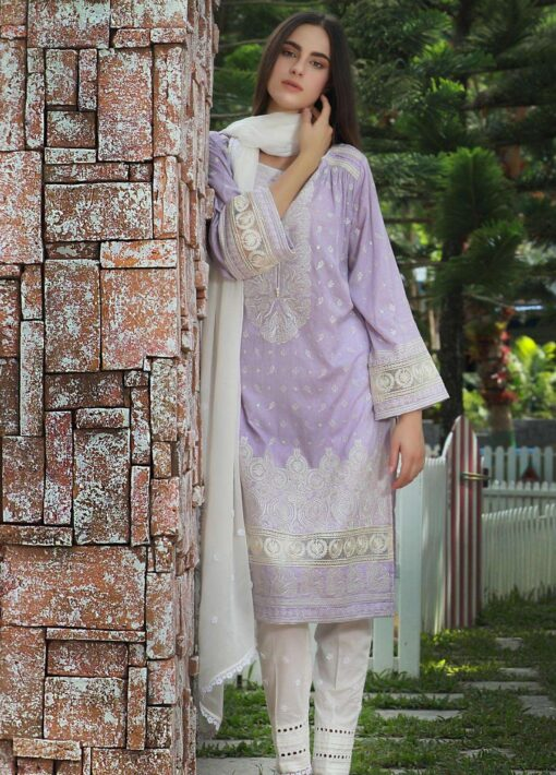 Lakhany Chikankari Lawn Unstitched 3 Piece Suit LSMCL18 803 - Lawn Collection