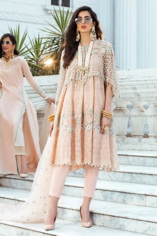 Mushq Luxury Chikankari Festive Lawn Unstitched 3 Piece Suit MFL20-03 - Summer Collection