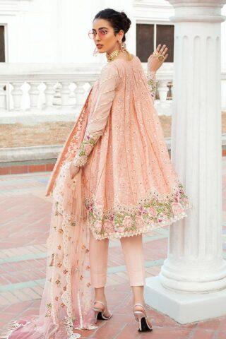 Mushq Luxury Chikankari Festive Lawn Unstitched 3 Piece Suit MFL20-07 - Summer Collection