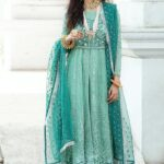 Mushq Luxury Chikankari Festive Lawn Unstitched 3 Piece Suit MFL20-02 - Summer Collection