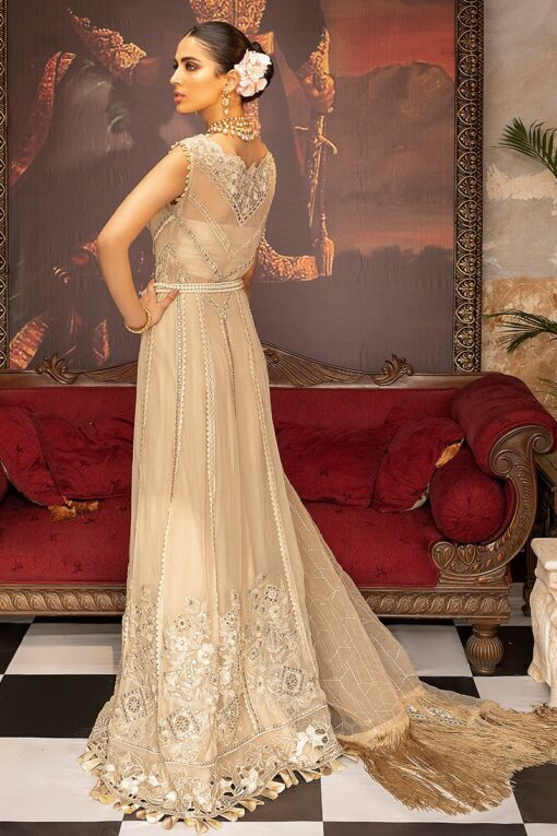 Mushq Embroidered Chiffon Unstitched 3 Piece Suit MQFC20 2 AURORA – Luxury Collection