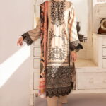 Qline by Qalamkar Embroidered Linen Unstitched 3 Piece Suit QQLNW20 13 - Winter Collection