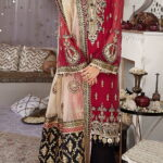 Nargis by Anaya Embroidered Chiffon Unstitched 3 Piece Suit AKCNC20 02 Shahrnaz - Wedding Collection