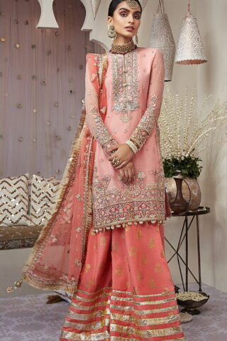 Nargis by Anaya Embroidered Chiffon Unstitched 3 Piece Suit AKCNC20 04 Aryana - Wedding Collection