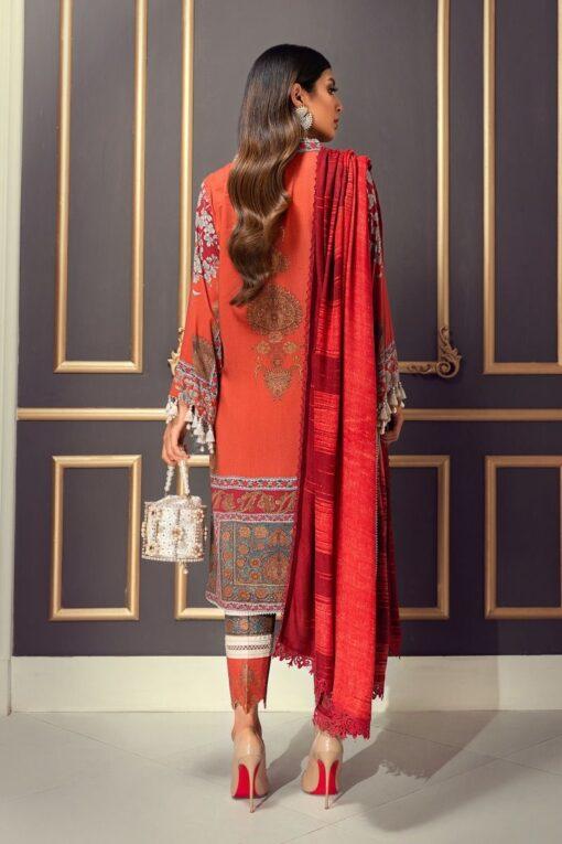 Muzlin by Sana Safinaz Linen Unstitched 2 Piece Suit MWSS20 03B – Winter Collection