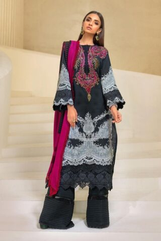 Muzlin by Sana Safinaz Wool Unstitched 3 Piece Suit MWSS20 04A - Winter Collection