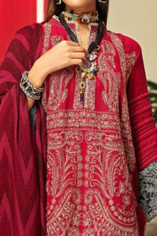 Muzlin by Sana Safinaz Wool Unstitched 3 Piece Suit MWSS20 06A - Winter Collection
