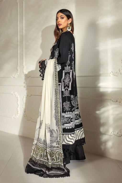 Muzlin by Sana Safinaz Linen Unstitched 2 Piece Suit MWSS20 09A – Winter Collection