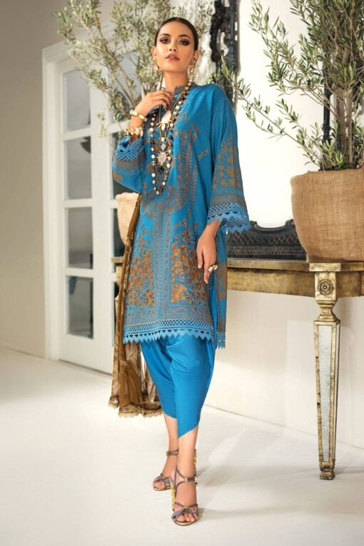 Muzlin by Sana Safinaz Wool Unstitched 3 Piece Suit MWSS20 15A – Winter Collection