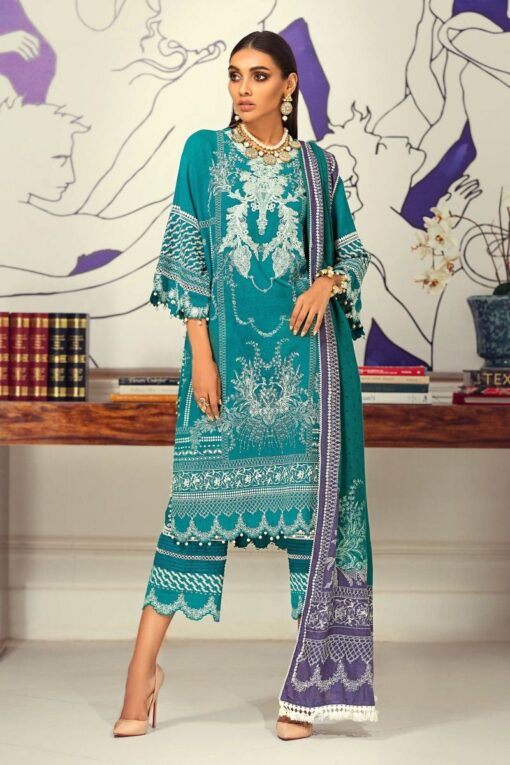 Muzlin by Sana Safinaz Wool Unstitched 3 Piece Suit MWSS20 16B – Winter Collection