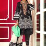 Muzlin by Sana Safinaz Cotton Satin Unstitched 3 Piece Suit MWSS20 01A - Winter Collection