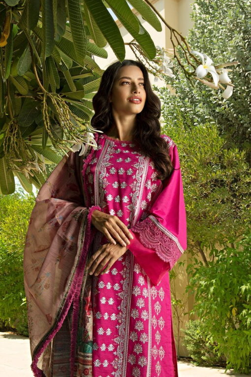 Sobia Nazir Khaddar Unstitched 3 Piece Suit SNWC20 05A – Winter Collection