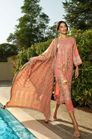 Sobia Nazir Khaddar Unstitched 3 Piece Suit SNWC20 07A - Winter Collection